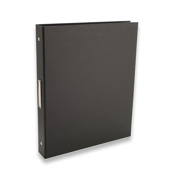 "Bex 3-Ring Binder by Pina Zangaro � 1"" (letter) Portrait � Black - Click Image to Close"