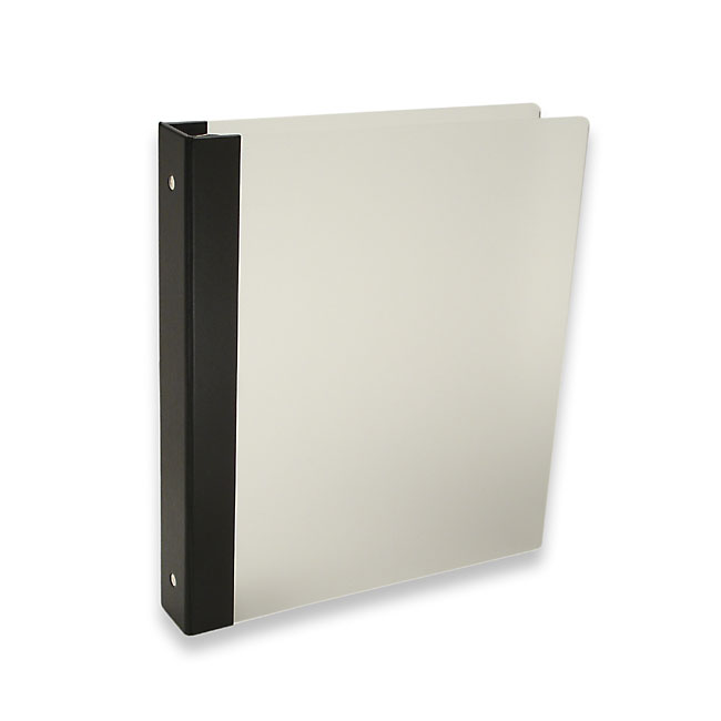 "Vista 3-Ring Binder by Pina Zangaro » 1"" (letter) Portrait » Translucent - Click Image to Close"