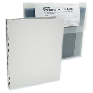 Machina Portfolio Kit by Pina Zangaro » 8.5x11 Portrait » Aluminum - Click Image to Close