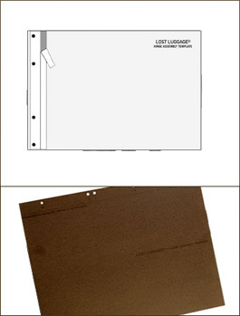 "Hinge Assembly Template Portfolio Accessory by Lost Luggage » 11"" or 14"" Hinge/Spine"