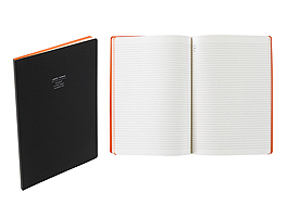 Nava Notes Notepad by Nava Design � A4 � Black