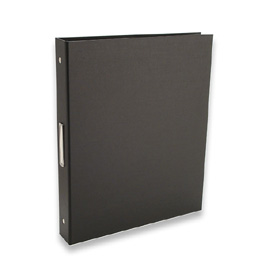 "Bex 3-Ring Binder by Pina Zangaro » 1"" (letter) Portrait » Black"