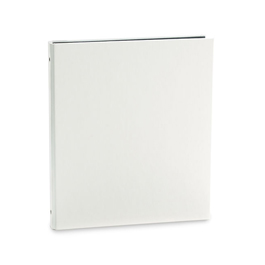 "Bryant 3-Ring Binder by Pina Zangaro » .5"" (letter) Portrait » Alabaster (White)"