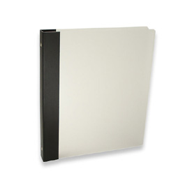 "Frost 3-Ring Binder by Pina Zangaro » .5"" (letter) Portrait » Frost (Translucent)"