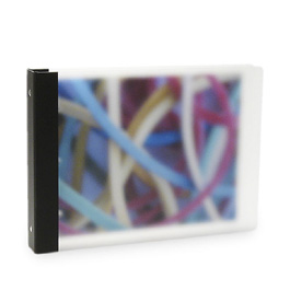 "Vista 3-Ring Binder by Pina Zangaro » 1"" (letter) Landscape » Translucent"