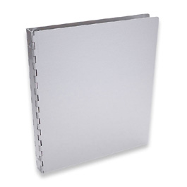 "Machina 3-Ring Binder by Pina Zangaro � .5"" (letter) Portrait � Aluminum"