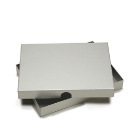 Machina Clamshell Presentation Box 1-inch by Pina Zangaro � 4x6 � Aluminum