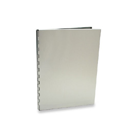 Machina Presentation Folder by Pina Zangaro » 8.5x11 (letter) Portrait » Aluminum