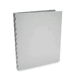 Machina Screwpost Portfolio Cover by Pina Zangaro � A4 Portrait � Aluminum