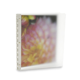 Vista Screwpost Portfolio Cover by Pina Zangaro � 8.5x11 Portrait � Mist (Translucent)