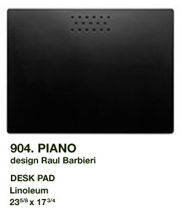 Plano Desk Pad by Rexite » Black