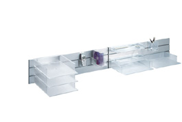 Standard Wall Beam by Rexite » Triple-Level Wall Beam 100 cm » Aluminum
