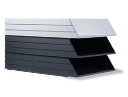 Status Letter Tray by Rexite » Aluminum