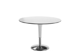 Zanziplano High Round Table by Rexite » White Top (White Cone)