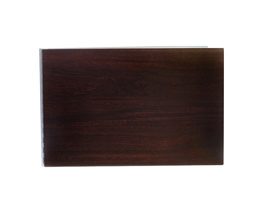 Handmade Wood Look Screwpost Portfolio Cover by Shrapnel Design » 11x17 Landscape » Walnut