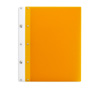 Ice Nine Light Screwpost Portfolio Cover by Case Envy » 8.5x11 Portrait » Orange Front and Back with White Hinge