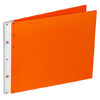 Ice Nine Screwpost Portfolio Cover by Case Envy » 11x14 Landscape » Orange Front and Back with White Hinge
