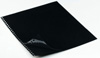 Polyester Sheet Protectors Portfolio Refill by Case Envy » 11x14 Portrait » Black Paper, Glossy Clear