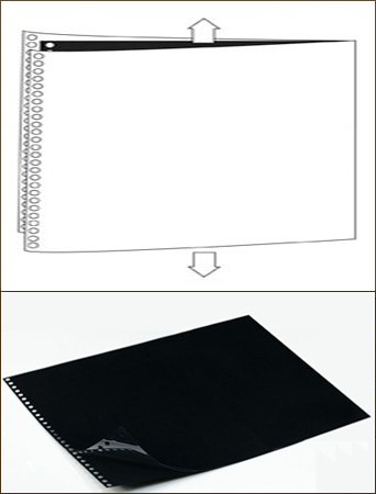 Polyester Sheet Protectors Portfolio Refill by Lost Luggage » 11x14 Landscape » Glossy
