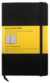Reporter Notebook Squared by Moleskine » Pocket » Black