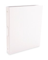 "Bex 3-Ring Binder by Pina Zangaro � 2"" (letter) Portrait � White"