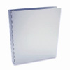 "Machina 3-Ring Binder by Pina Zangaro � 1"" (letter) Portrait � Aluminum"