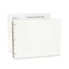 Vista Screwpost Portfolio Kit by Pina Zangaro » A4 Landscape » Snow (White)