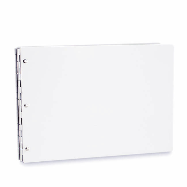 Vista Screwpost Portfolio Cover by Pina Zangaro » 11x14 Landscape » Snow (White)