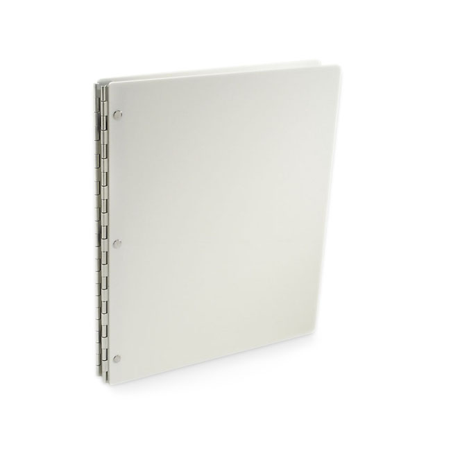 Vista Screwpost Portfolio Cover by Pina Zangaro » 11x17 Portrait » Snow (White)