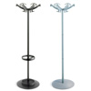 Doppiopetto Coat Stand by Rexite » Matt Black Head, Rod and Base