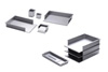 Standard Front Letter Tray for Desktop or Wall by Rexite » Aluminum