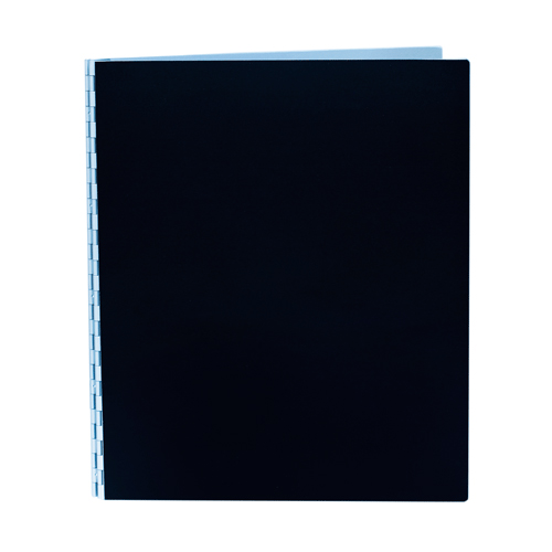 Handmade Double Thick Screwpost Portfolio Cover by Shrapnel Design » 11x14 Portrait » Black Anodized Aluminum
