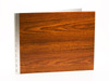 Handmade Wood Look Screwpost Portfolio Cover by Shrapnel Design » 11x14 Landscape » Teak