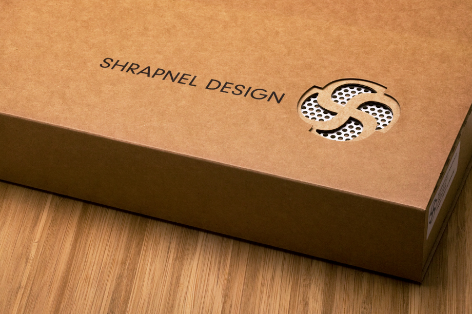 Handmade Wood Screwpost Portfolio Cover by Shrapnel Design » 11x14 Portrait » Solid Bamboo